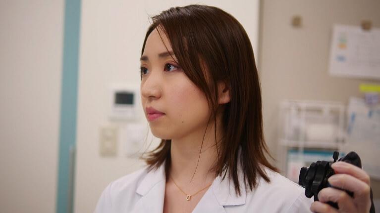 女性医師による内視鏡検査