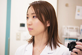 女性が安心して受けられる女性医師による内視鏡検査