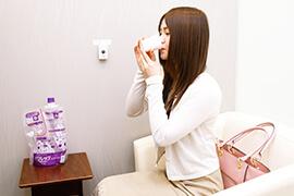 完全個室での院内下剤に対応